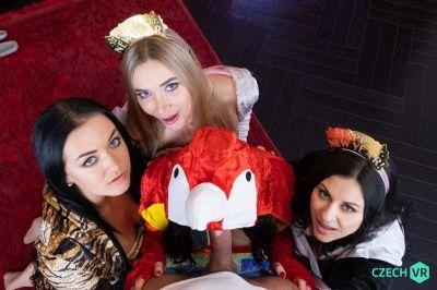 Welcoming New Year: Part 1 - Billie Star, Lady Gang, Venera Maxima, Zuzu Sweet - VR Porn - Image 7