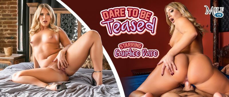 Dare To Be Teased feat. Candice Dare - VR Porn Video