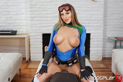 Street Fighter V A XXX Parody - Kayley Gunner - VR Porn - Image 7