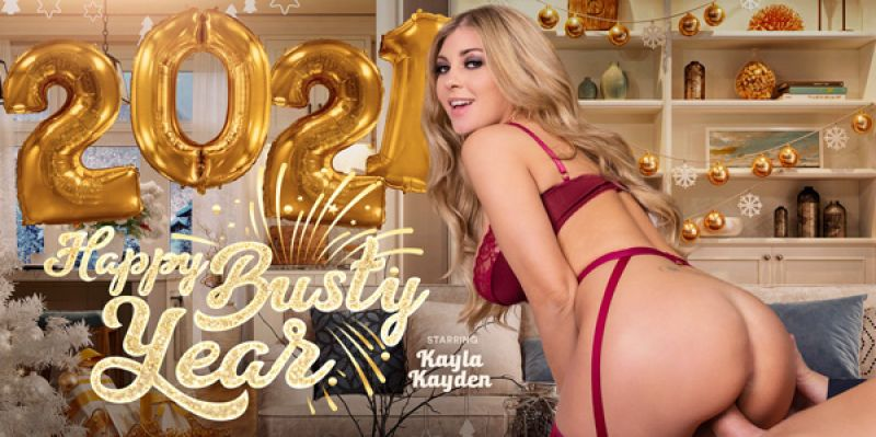 Happy Busty Year feat. Kayla Kayden - VR Porn Video
