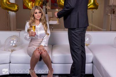 Happy Busty Year - Kayla Kayden - VR Porn - Image 1