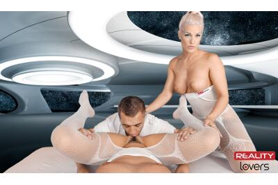 Space Orgasm: Reloaded - Blanche Bradburry, Vanessa Decker - VR Porn - Image 163
