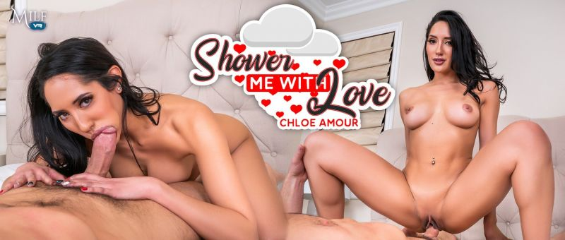 Shower Me With Love feat. Chloe Amour - VR Porn Video