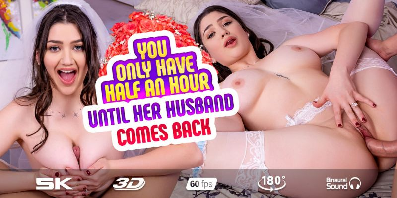 Escaped Bride feat. Alyx Star - VR Porn Video
