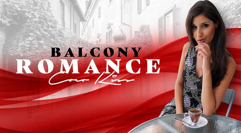 Balcony Romance feat. Coco Kiss - VR Porn Video