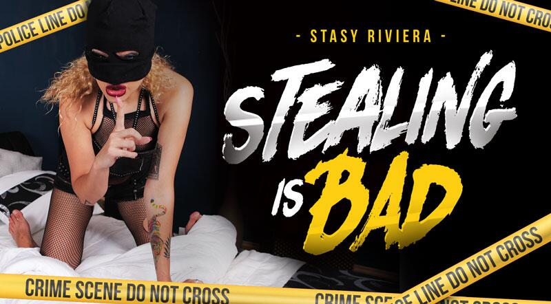 Stealing Is Bad feat. Stasy Riviera - VR Porn Video