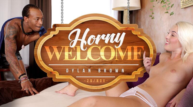 Horny Welcome feat. Dylan Brown - VR Porn Video