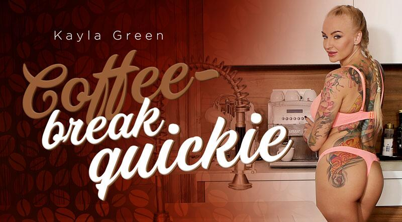 Coffee-Break Quickie feat. Kayla Green - VR Porn Video