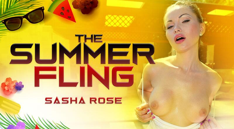 The Summer Fling feat. Sasha Rose - VR Porn Video