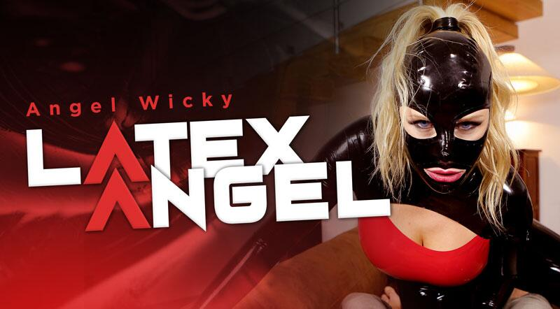 Latex Angel feat. Angel Wicky - VR Porn Video