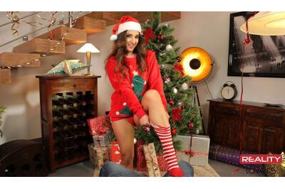 Receiving The Stockings - Amirah Adara - VR Porn - Image 42