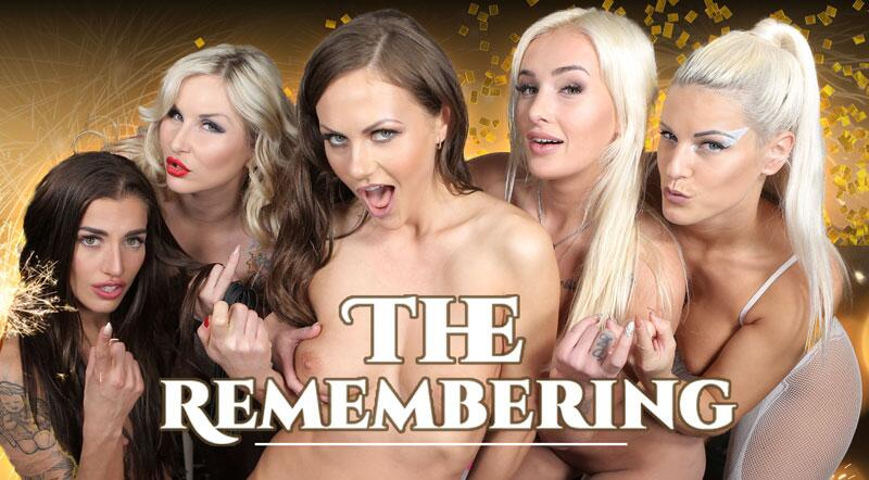 The Remembering feat. Blanche Bradburry, Daisy Lee, Jarushka Ross, Silvia Dellai, Tina Kay - VR Porn Video