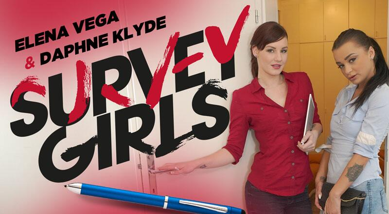 Survey Girls feat. Daphne Klyde, Elena Vega - VR Porn Video