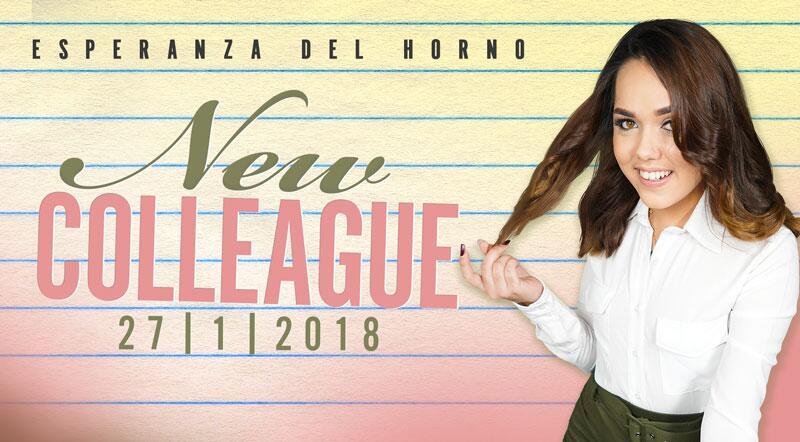 New Colleague feat. Esperanza Del Horno - VR Porn Video