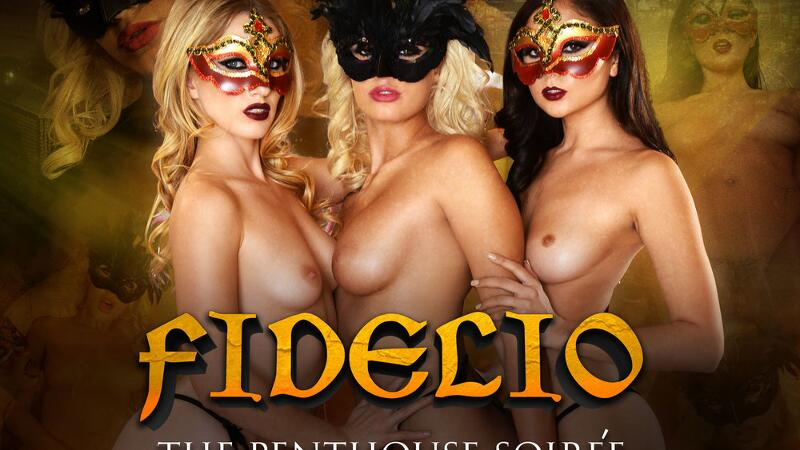 Fidelio - The Penthouse Soirée feat. Ariana Marie, Athena Palomino, Riley Reyes, Justin Hunt - VR Porn Video