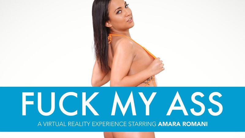 Fuck My Ass feat. Amirah Adara, Dylan Snow - VR Porn Video