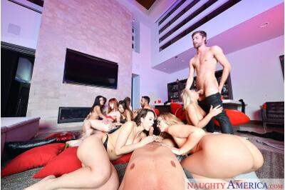 Silicon Valley Sex Party - Ryan Driller, Jade Nile, Moka Mora, Zoey Monroe, Dylan Snow - VR Porn - Image 347