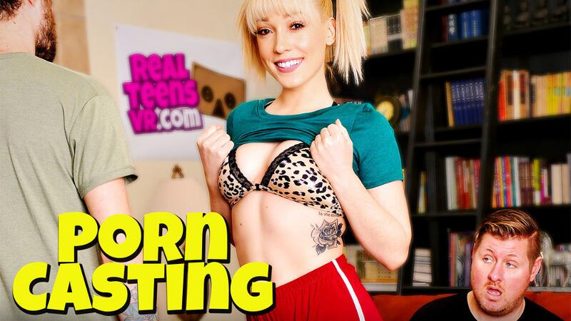 Porn Casting feat. Lily LaBeau, Dylan Snow - VR Porn Video
