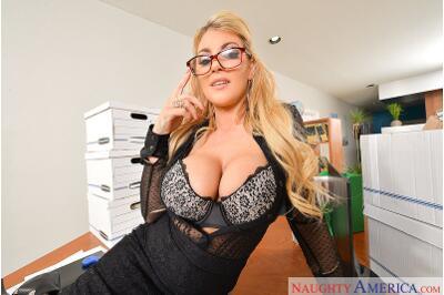 Big Tits Office - Ryan Driller, Kayla Kayden - VR Porn - Image 321