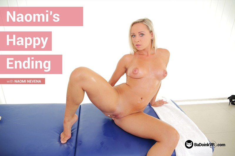 Naomi's Happy Ending feat. Naomi Nevena - VR Porn Video