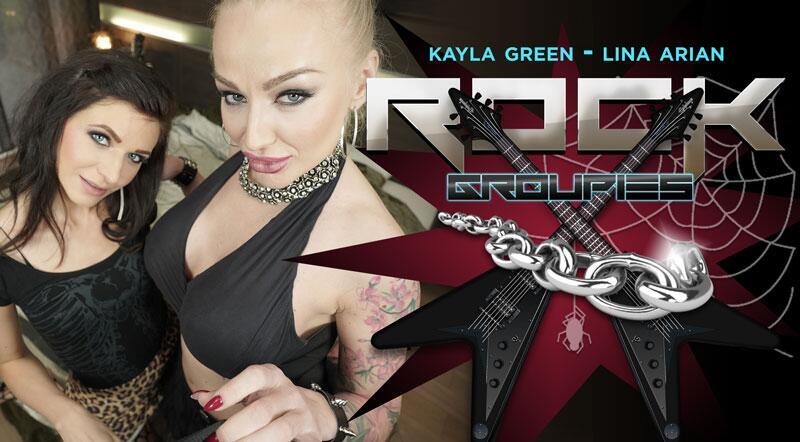 Rock Groupies feat. Arian Joy, Kayla Green - VR Porn Video