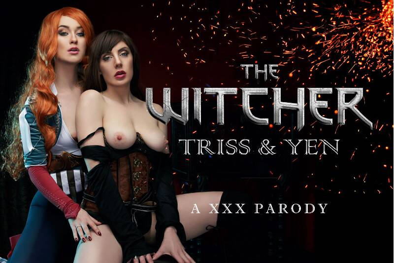 The Witcher: Yen & Triss A XXX Parody (Lesbian) feat. Misha Cross, Samantha Bentley - VR Porn Video
