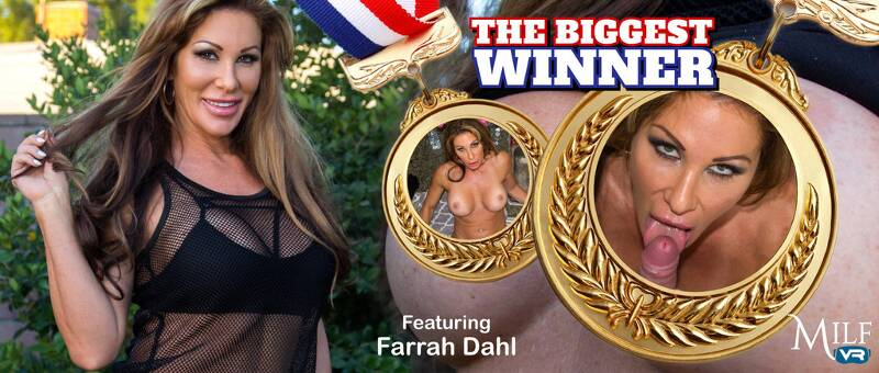 The Biggest Winner feat. Farrah Dahl - VR Porn Video