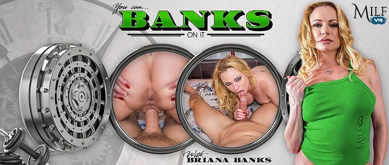You Can Banks On It feat. Briana Banks - VR Porn Video
