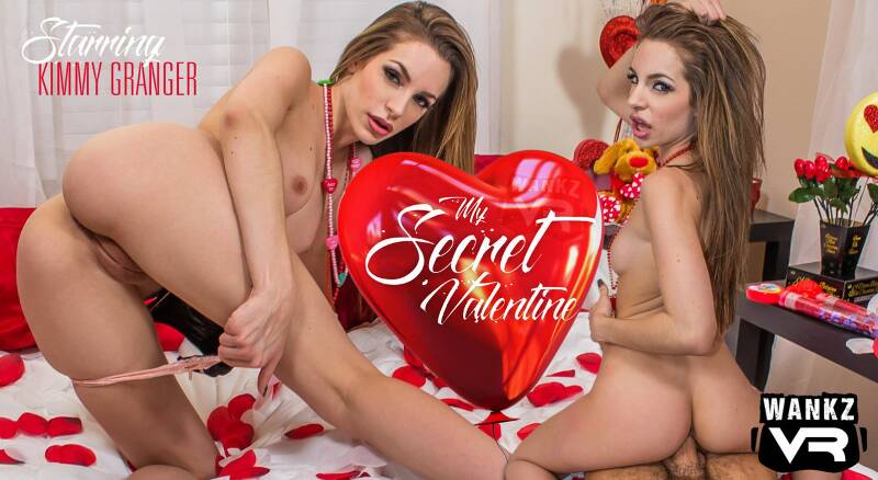My Secret Valentine feat. Kimmy Granger - VR Porn Video