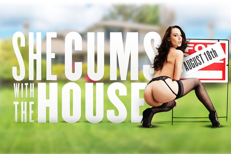 She Cums with the House feat. Aidra Fox - VR Porn Video