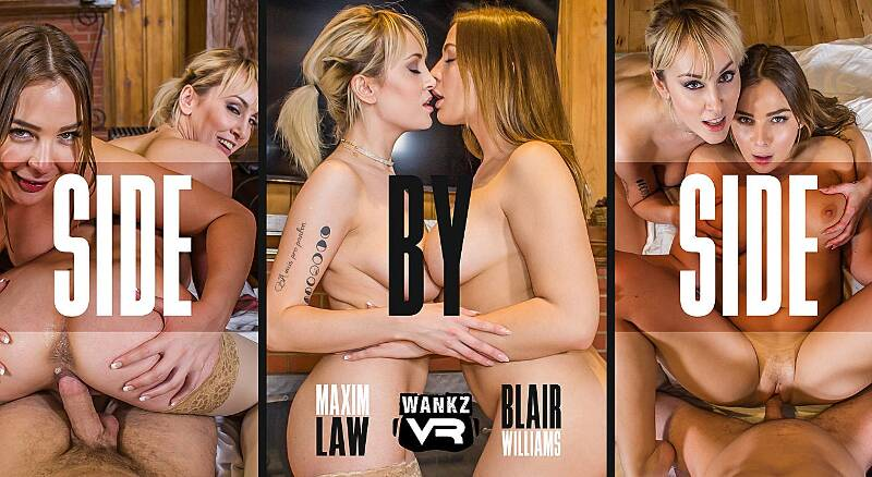 Side by Side feat. Blair Williams, Maxim Law - VR Porn Video