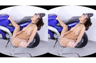 Biker Babe in Leather Pants - Darcia Lee - VR Porn - Image 74