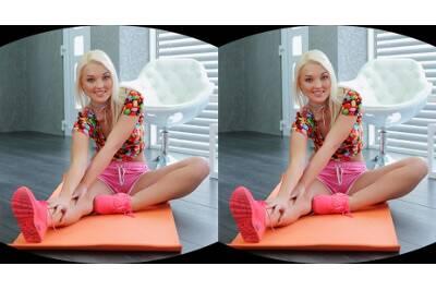 Hot Blonde Masturbates During Yoga - Lovita Fate - VR Porn - Image 106