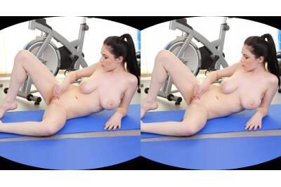 Explicit Revelation from a Busty Gymnast - Angel Princess - VR Porn - Image 27