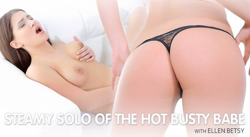 Steamy Solo in Tight Shorts feat. Ellen Betsy - VR Porn Video