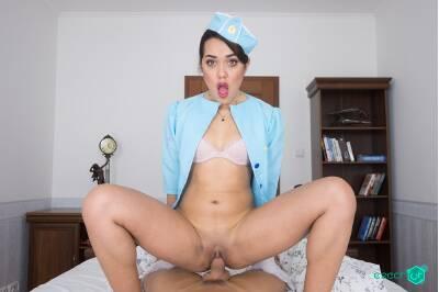 Horny Stewardess - Esperanza Del Horno - VR Porn - Image 27