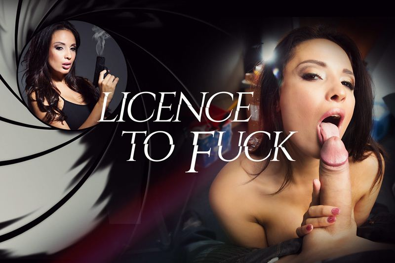 Licence To Fuck feat. Anissa Kate - VR Porn Video