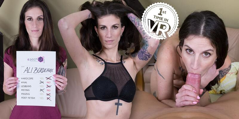 Coming Thrice on Casting! feat. Ali Bordeaux - VR Porn Video