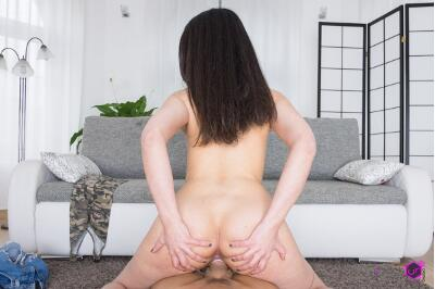 Her First Adult Experience! - Stacy Sommers - VR Porn - Image 11