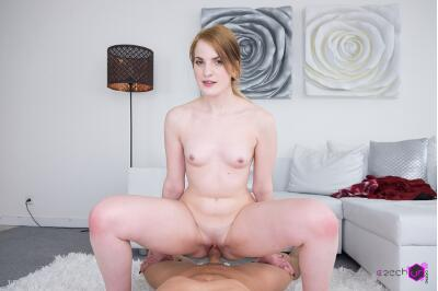 Tiny, But Perky on VR Casting - Kizzy Sixx - VR Porn - Image 17
