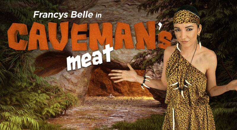 Caveman's Meat feat. Francys Belle - VR Porn Video