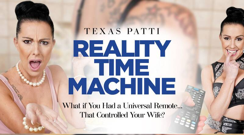 Reality Time Machine feat. Texas Patti - VR Porn Video
