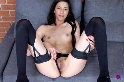Slim girl in VR Casting - Ashley Ocean - VR Porn - Image 51