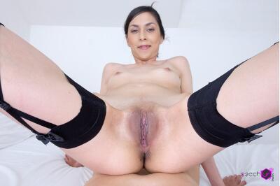 Slim girl in VR Casting - Ashley Ocean - VR Porn - Image 54
