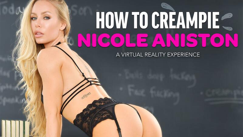 How To Creampie Nicole Aniston feat. Nicole Aniston, Dylan Snow - VR Porn Video