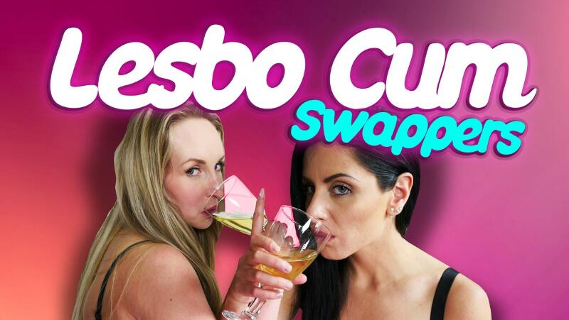Lesbo Cum Swappers feat. Alex Black, Jenny Simons - VR Porn Video